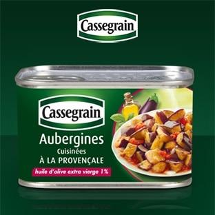 Test Cassegrain : 200 boîtes d'Aubergines Provençales gratuites