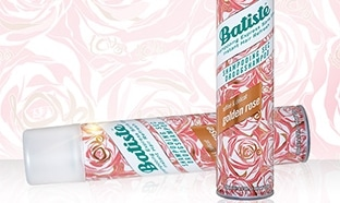 Test shampoing sec Golden Rose de Batiste : 100 gratuits