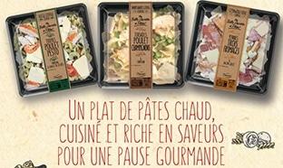 Test gratuit Daunat : pâtes Ma Belle Assiette