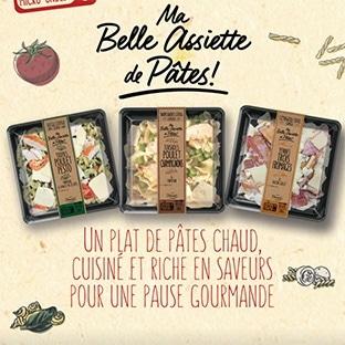 Test gratuit Daunat : 3000 lots de 3 produits Ma Belle Assiette