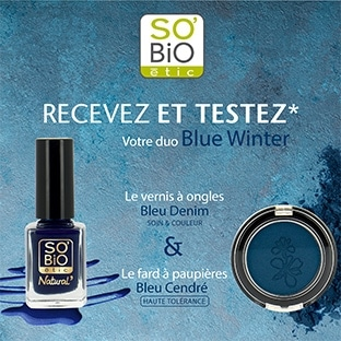Test maquillage SO'BiO étic : 50 duos gratuits (fard + vernis)