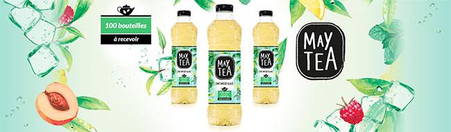 testez gratuitement la boisson MayTea menthe