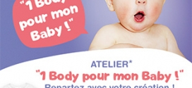 Atelier Babies'R'Us = 1 body bébé personnalisé gratuit
