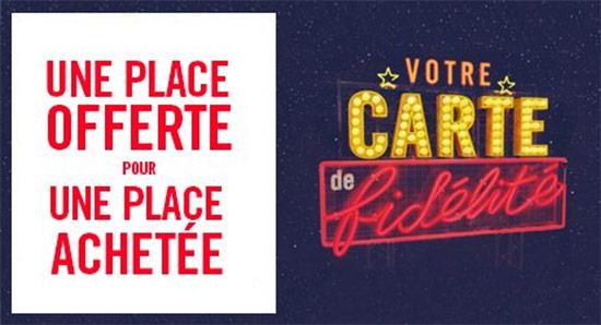 Bon plan gaumont path 1 place de cin achet e 1 offerte - Carte fidelite gaumont ...