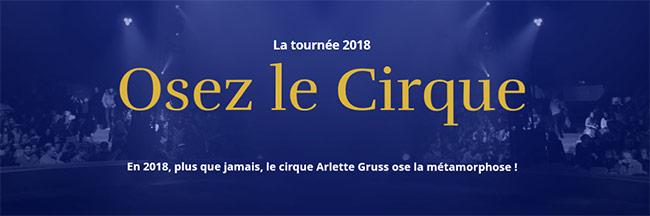 gagnez vos 4 entrées pour le cirque Arlette Gruss