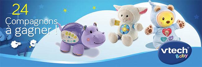 gagnez l'un des 24 cadeaux VTech avec le jeu Conso Baby