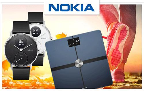 gagnez une montre et une balance connectées Nokia
