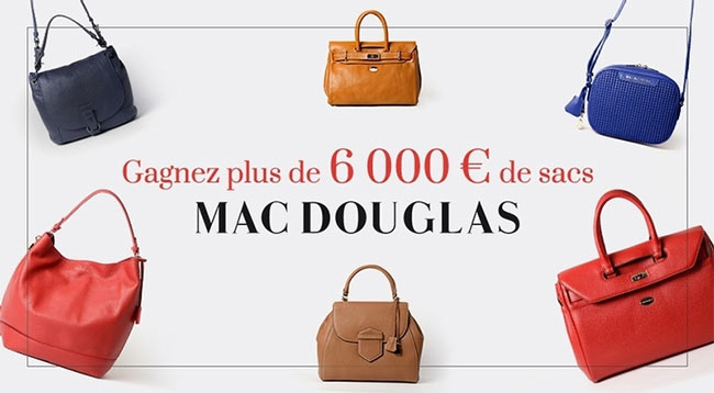 remportez l'un des sacs Mac Douglas au jeu Parents