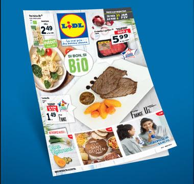 Catalogue Lidl de la semaine : Si bon, si Bio