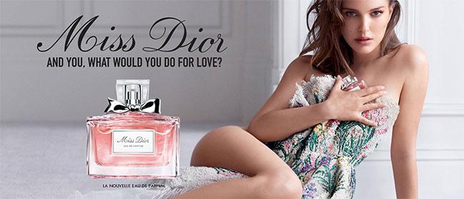 Commandez votre dose d'essai de la fragrance Miss Dior