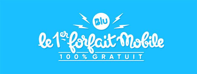 Forfait téléphonique Blu : Communiquez gratuitement