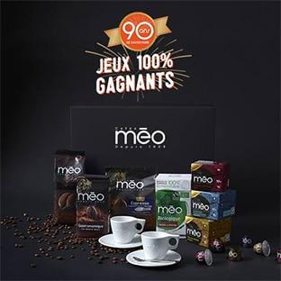 Jeu Cafés Méo : 1000 coffrets dégustation à gagner