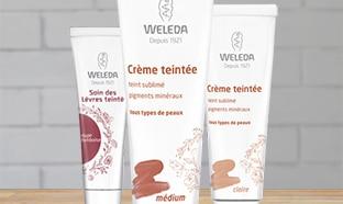 Jeu concours Weleda : 50 crèmes teintées à gagner