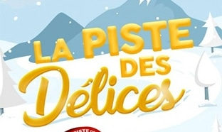 Jeu La Piste des Délices : 3 séjours au ski et 46 carnets de 50€