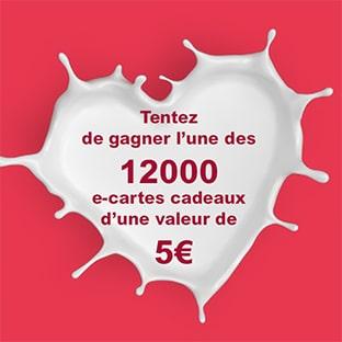 Produits laitiers jeu Leclerc