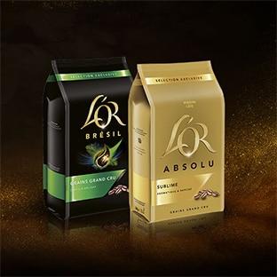 Jeu L'Or : 100 lots d'un an de café en grains à gagner