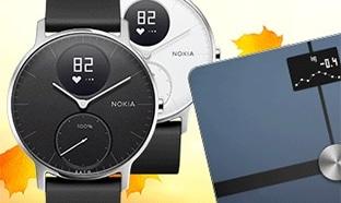 Jeu Femina : 10 lots Nokia (Balance Body & Montre Steel)