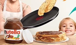 Jeu Nutella & Tefal Chandeleur
