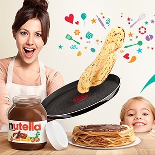 Jeu Nutella & Tefal Chandeleur : 1000 lots de 4 box surprises