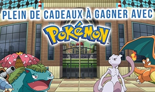 Jeu www.candy-up.fr : 2 Nintendo Switch et 258 lots Pokémon
