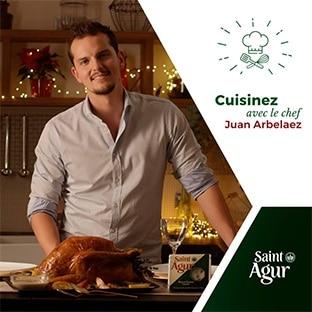 Jeu Saint Agur : Cours de cuisine avec un grand chef et 60 lots