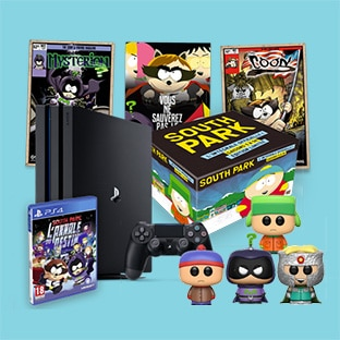 Jeu South Park de Game One : PS4 et 102 autres lots à gagner