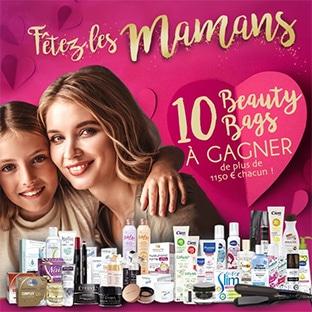 10 Beauty Bags (avec + de 1150€ de produits de beauté) à gagner