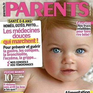 Abonnement magazine Parents pas cher à 14,90€ (-63%)