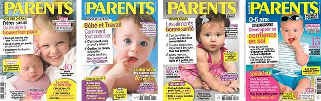 Abonnez-vous au magazine Parents à petit prix