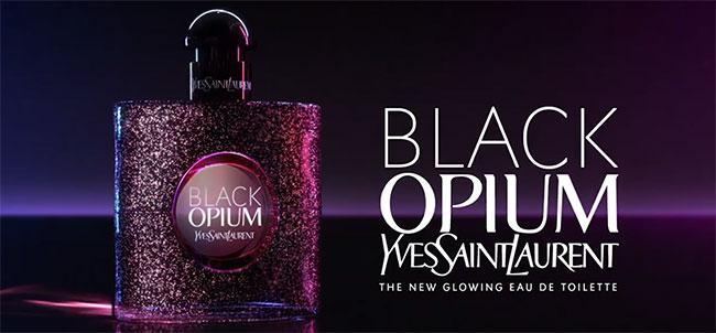 Recevez un échantillon de l'eau de toilette Black Opium