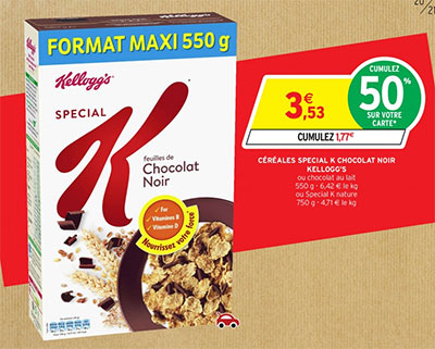 Promotions Intermarché Kellogg's Special K