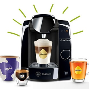 promo tassimo machine joy 8 paquets 69 au lieu de 183. Black Bedroom Furniture Sets. Home Design Ideas