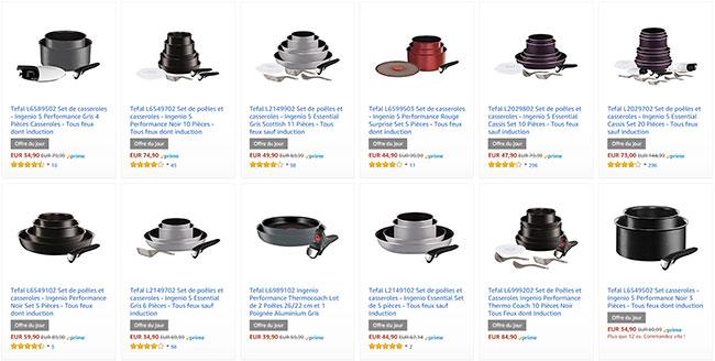 soldes casseroles induction top soldes casseroles. Black Bedroom Furniture Sets. Home Design Ideas