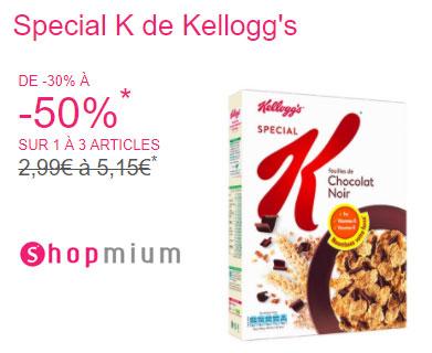 ODR Shopmium céréales Special K