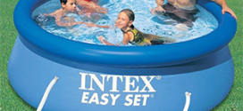 Soldes Decathlon : Kit Piscine Intex Easy Set à 24,99€ (-50%)