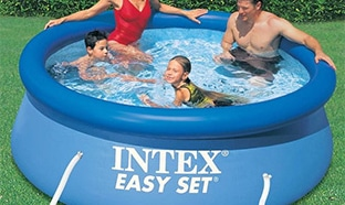 Soldes Decathlon : Kit Piscine Intex Easy Set  pas cher