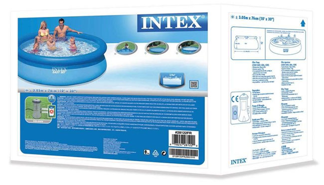 Piscine Intex en soldes chez Decathlon : 50% de réduction