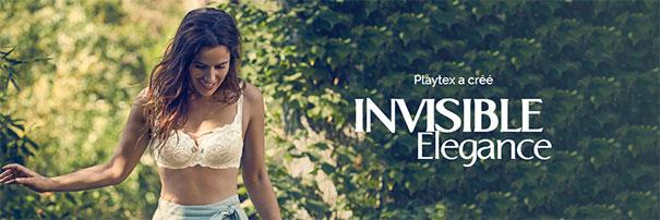 testez gratuitement les soutiens-gorge Playtex Invisible Élégance