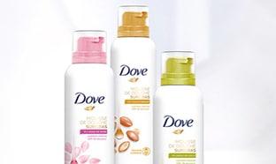 Test Dove : 1000 mousses de douche Surgras gratuites