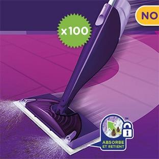 Test Envie de Plus : 100 balais Spray WetJet de Swiffer gratuits