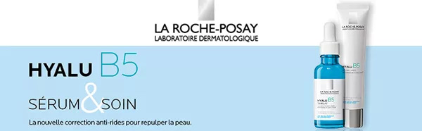 testez le sérum et le soin Hyalu B5 de La Roche-Posay