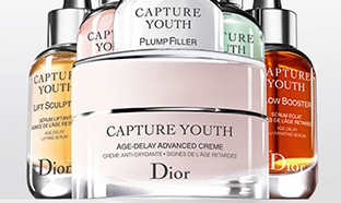 Échantillons gratuits de la routine Capture Youth de Dior