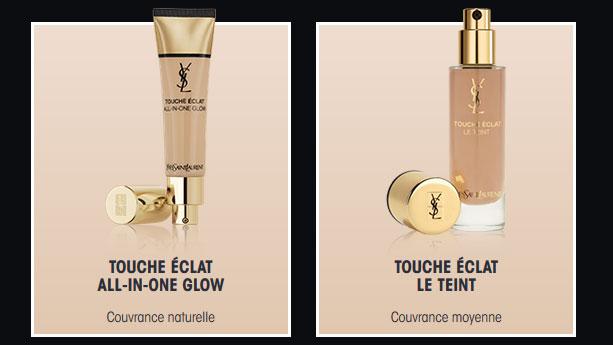 Recevez gratuitement un échantillon de Touche Éclat Yves Saint Laurent