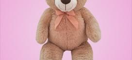 Promo Carrefour : Ours en peluche géant d'un mètre à 10€