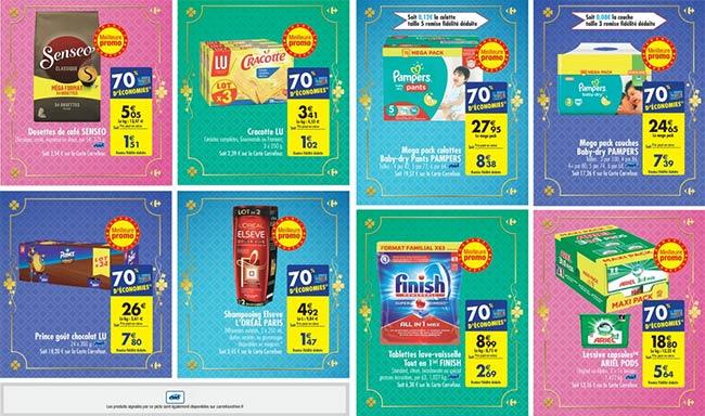 70% d'économies avec les jours Hyper Chanceux de Carrefour