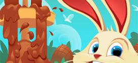 Appli Auchan Kids : Jeu Lapins de Pâques avec 382 cadeaux