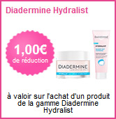 Bon de réduction Diadermine Hydralist
