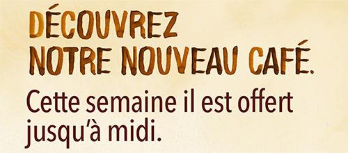 Café gratuit dans tous les McDo de France jusqu'à dimanche
