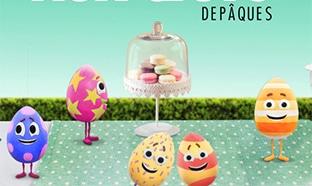 Carrefour : Chasse aux œufs gratuite pour Pâques