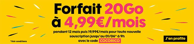 Réalisez 180€ d'économies avec le code de réduction Sosh